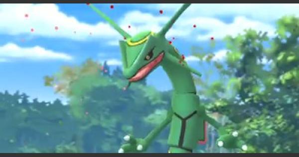 【ポケモンGO】レックウザ対策!おすすめレイド攻略ポケモン