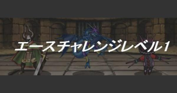 【DQMSL】エースチャレンジレベル1 自然系縛り&ウェイト110攻略!