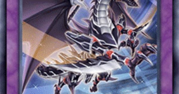 【遊戯王デュエルリンクス】真紅眼の黒刃竜の評価と入手方法