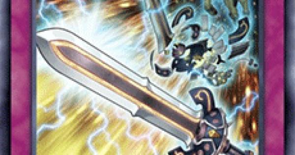 【遊戯王デュエルリンクス】剣現する武神の評価と入手方法