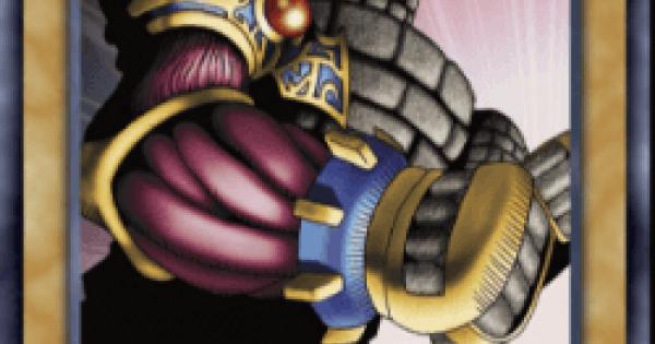 【遊戯王デュエルリンクス】破壊のゴーレムの評価と入手方法