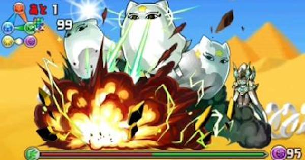 【パズドラ】メジェドラ降臨(超地獄級)ノーコン攻略と周回パーティ