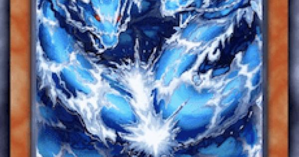 【遊戯王デュエルリンクス】ウォータードラゴンクラスターの評価と入手方法