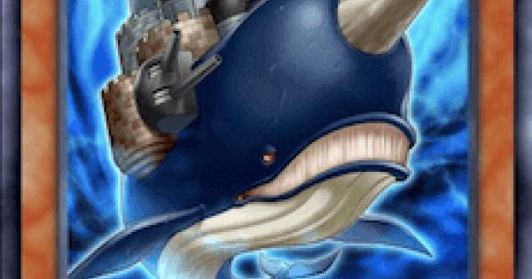 【遊戯王デュエルリンクス】城塞クジラの評価と入手方法