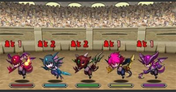 【パズドラ】チャレンジダンジョンレベル4攻略(第32回)ノーコンパーティ
