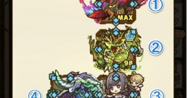 【サモンズボード】幻惑の魔域(イブリース)攻略のおすすめモンスター