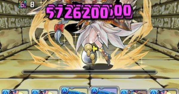 【パズドラ】女神+297降臨(絶地獄級)ノーコン攻略パーティ