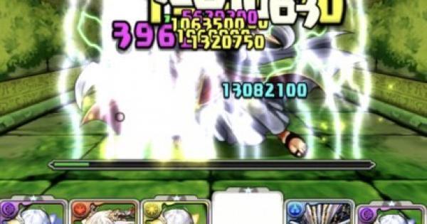 【パズドラ】ゼウスディオス+297降臨(絶地獄級)ノーコン攻略パーティ