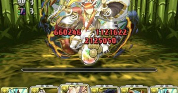 【パズドラ】タケミナカタ+297降臨(絶地獄級)ノーコン攻略パーティ