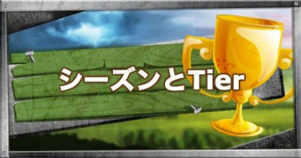 【フォートナイト】シーズンとTier(ティア)について【FORTNITE】