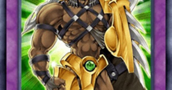 【遊戯王デュエルリンクス】E・HEROワイルドジャギーマンの評価と入手方法