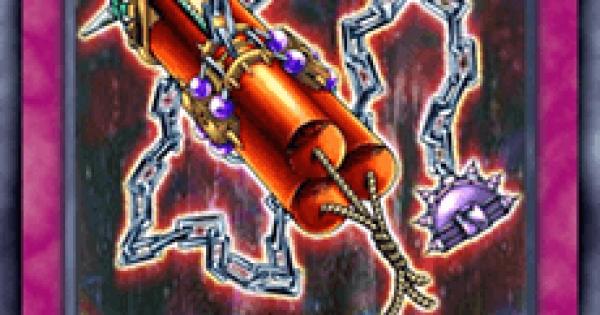 【遊戯王デュエルリンクス】鎖付き爆弾の評価と入手方法