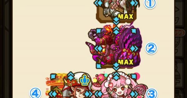 【サモンズボード】翠の聖木(ニダヴェリール)攻略のおすすめモンスター