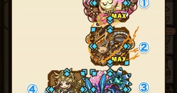 【サモンズボード】影の聖木(ギンヌンガガプ)攻略のおすすめモンスター
