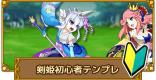 アサシン/剣姫の初心者テンプレ