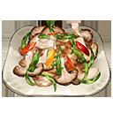 チキン・マタンゴハチミツ焼き