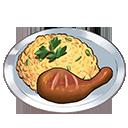 チキン野菜チャーハン