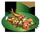 ドラゴンの串焼き(塩)