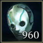 幽霊のマスクアイコン