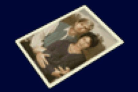 ジョンとエイダの写真