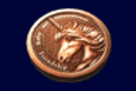 ユニコーンのメダル