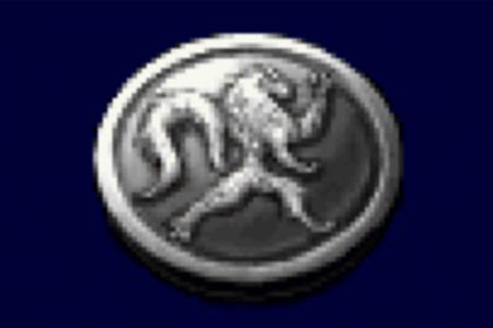 オオカミのメダル