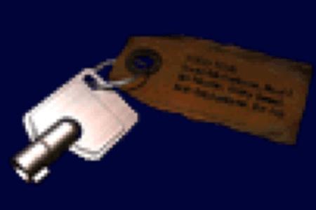 武器ボックスのカギ