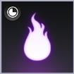 烈々紫炎のアイコン