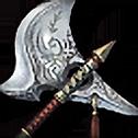 修練用の斧