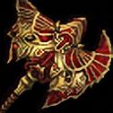 光り輝く落猿斧