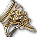 光り輝く奇縁の比武斧