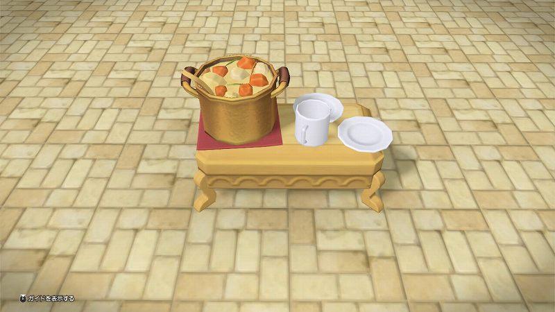 炊き出しテーブル