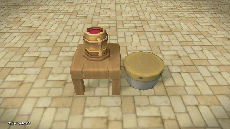 ドリンクテーブル