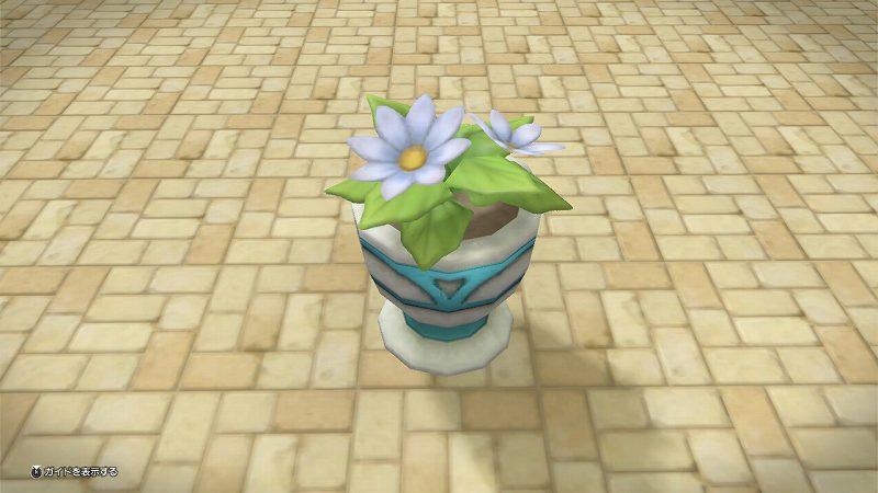 はち植えの花