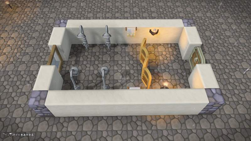 すけすけシャワー室