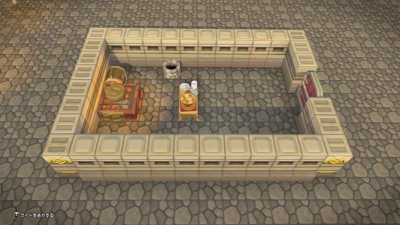 お城の食堂