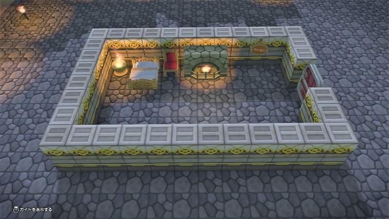王さまの寝室