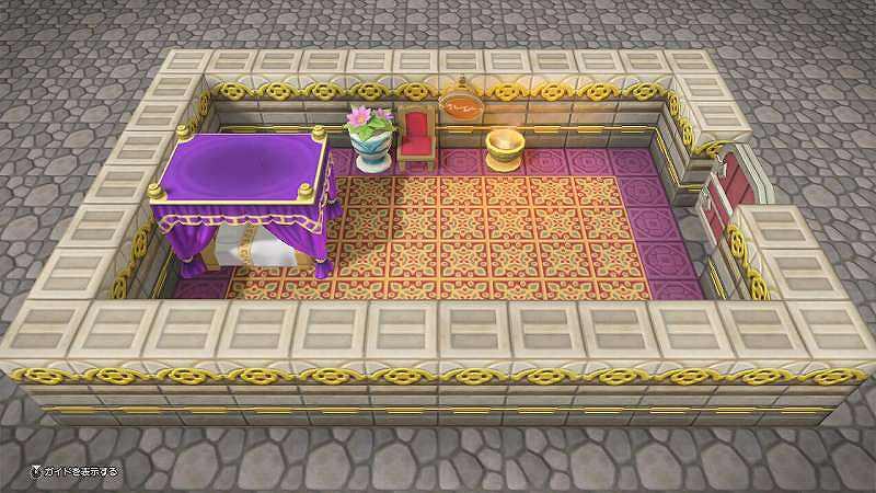 お姫さまの寝室