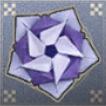 ダチュラの折り紙