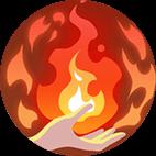 火の守護アイコン