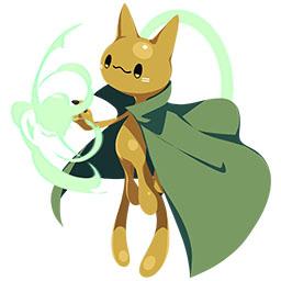 ネコ神・そらのすがたの画像