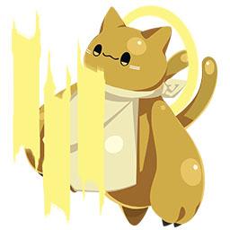 ネコ神・だいちのすがたの画像