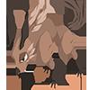 サンドウルフの画像