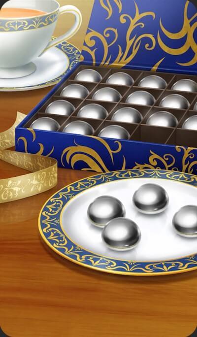水銀チョコのイラスト