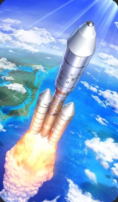 タイタンⅢEロケットのイラスト