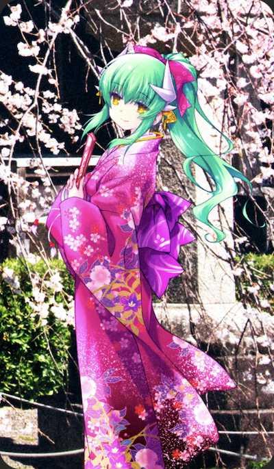 英霊紀行:清姫のイラスト