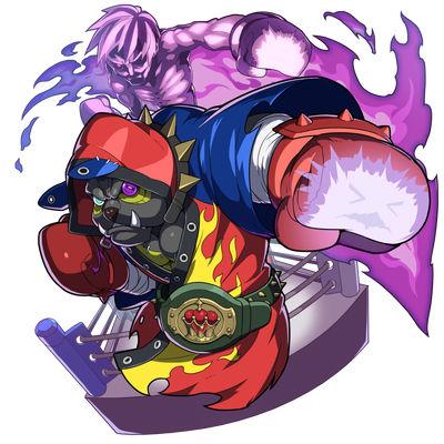 パペット界屈指のチャンピオン画像