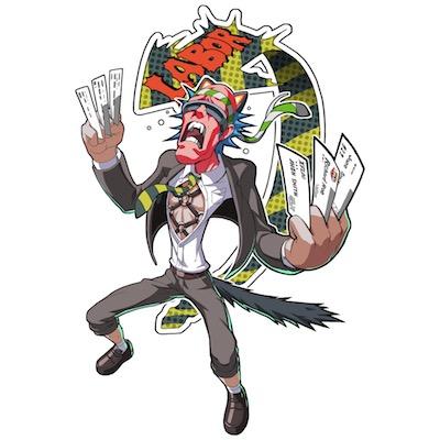 憤怒の社畜レイバーウルフ画像