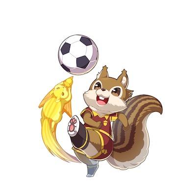 ボールの友達 リフティ画像