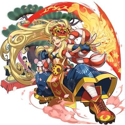 歌舞姫獅子 十八番屋ミキリ画像